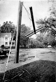 Hurricane Gloria Aftermath in 1984