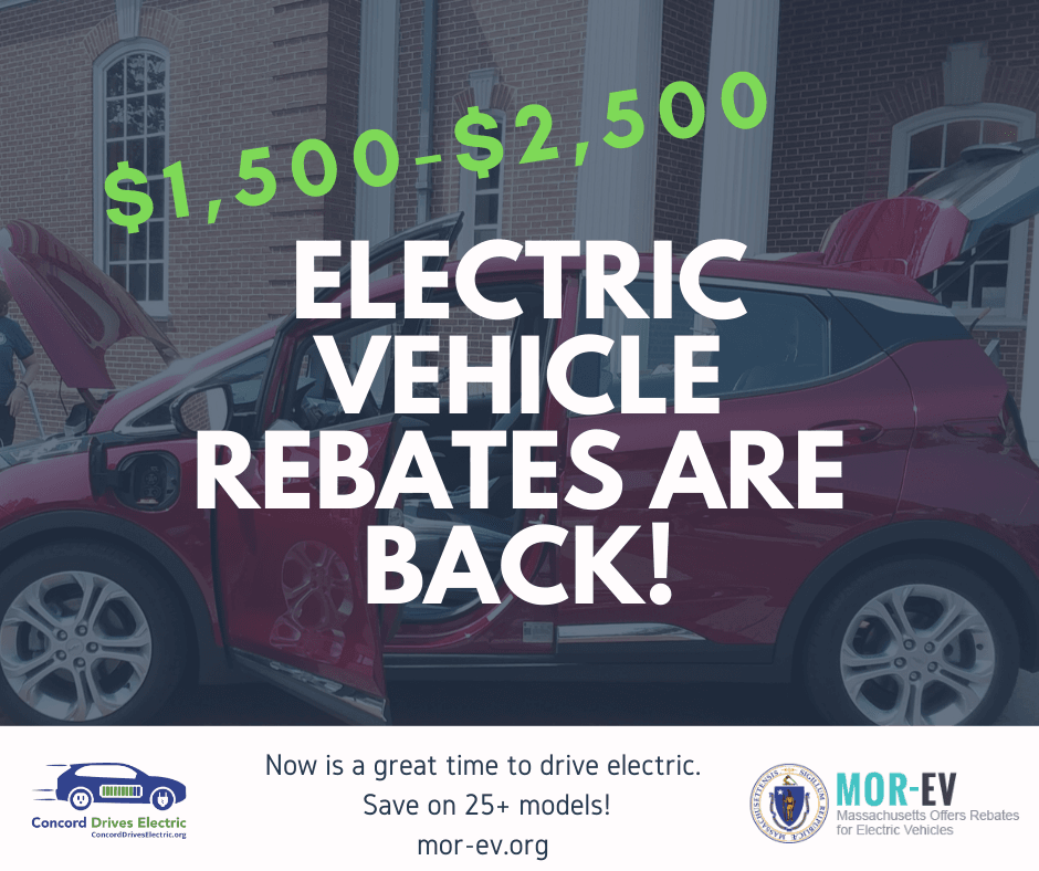 Electric  Vehicle Rebates Are Back!