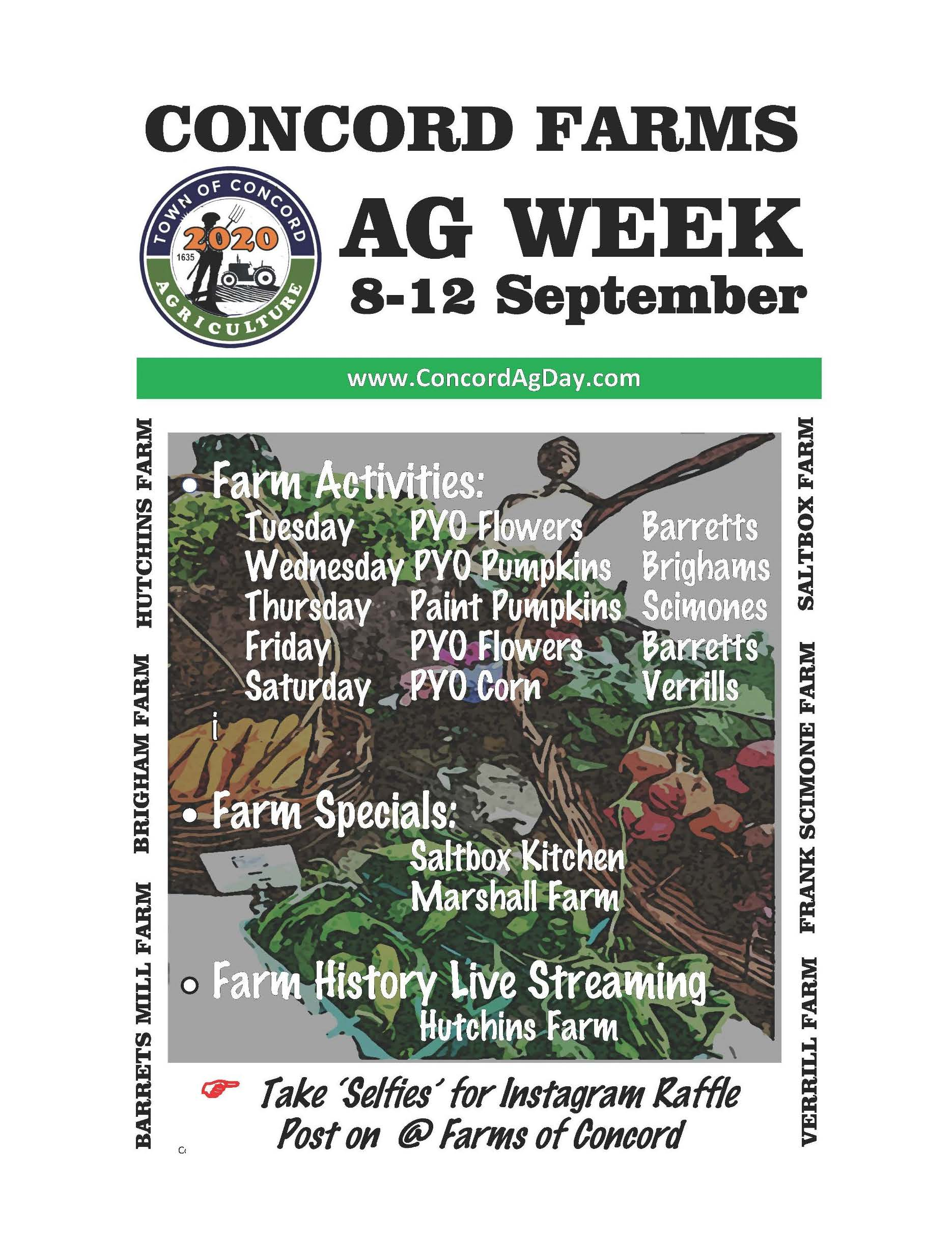 Ag Week Poster 2020