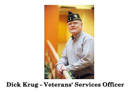 Photo of Dick Krug for Veterans Services