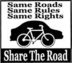 Same Roads Same Rules Same Rights