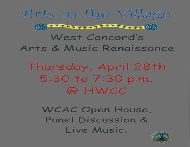Arts in the Village Flyer