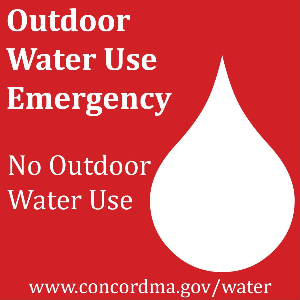 Water Use Emergency -Red