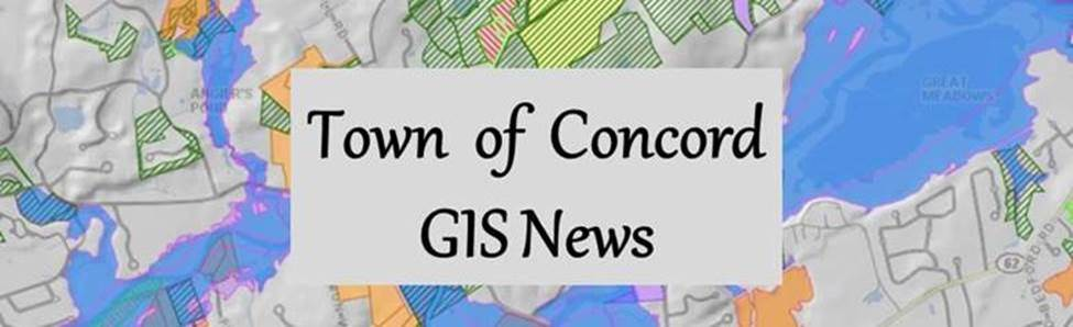 Concord GIS News Header