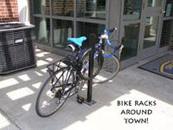 Bike Rack and Bike